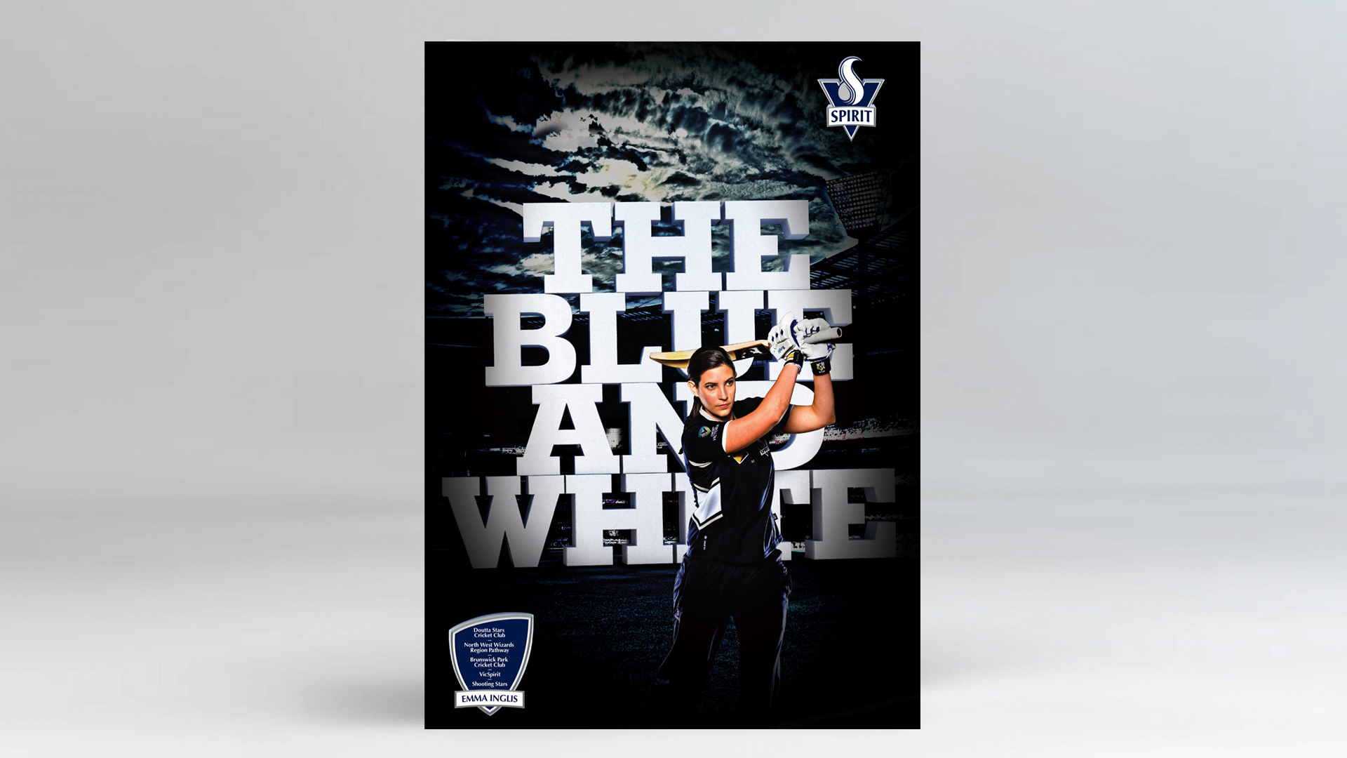 CRICKET VICTORIA PATHWAYS Design Campaign Digital Print glenn maxwell Peter Siddle Bushrangers