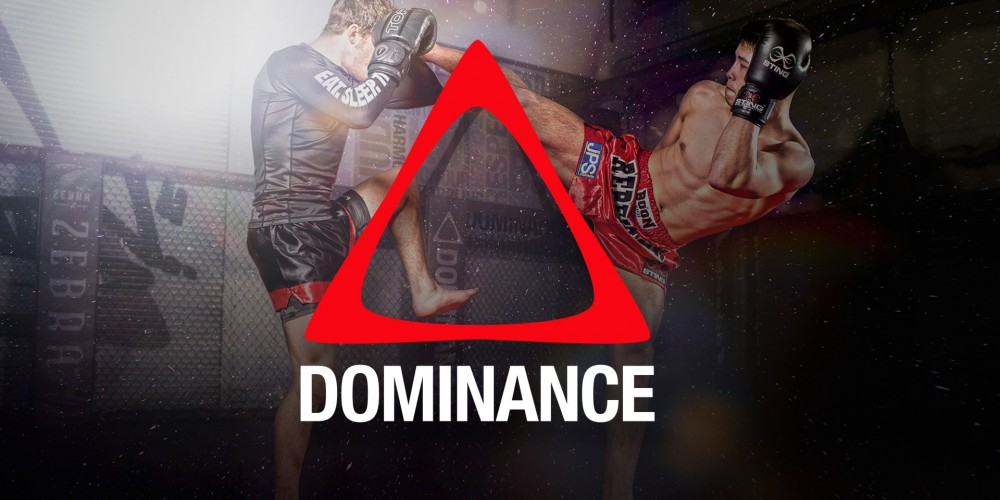DOMINANCE MMA DesignArt Direction Brand Development Apparel UX Mlb Design