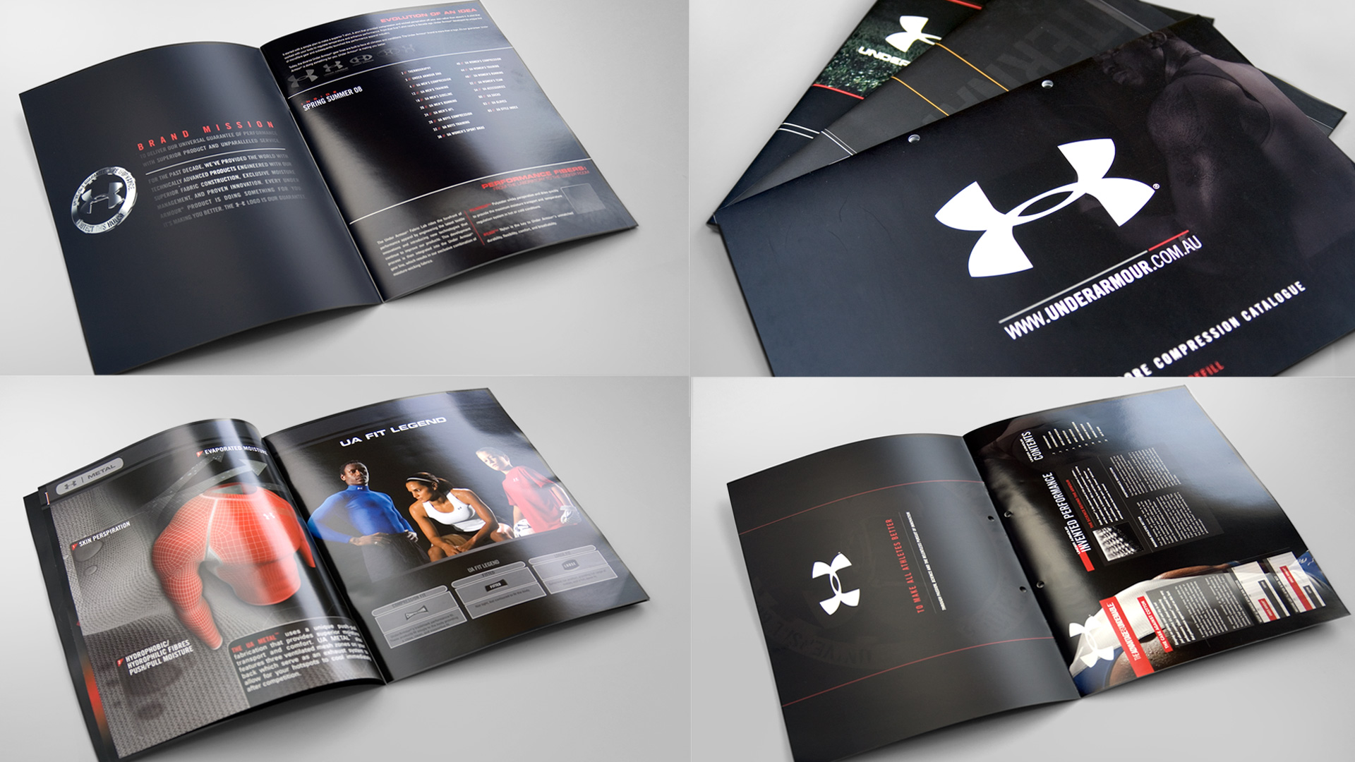 UNDER ARMOUR Publications Packaging Print Environmental Mlb Design